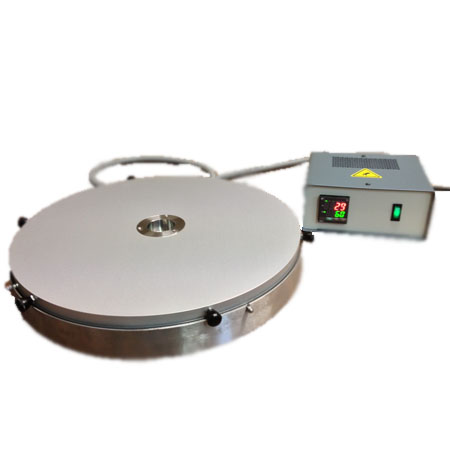 Heating plate for lost wax casting
