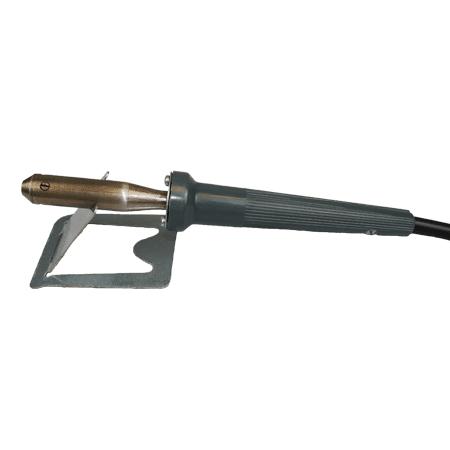 Fer à souder avec prise connecteur SEM et son repose fer, fabrication française