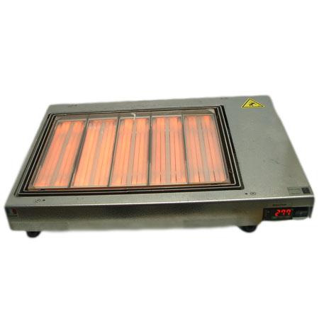 Placa calefactora por infrarrojos