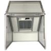 Cabine complète monoposte avec porte relevable HI5VPP