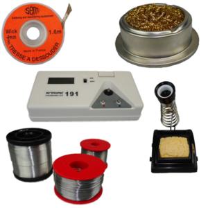 Accessoires pour produits de soudage et dessoudage