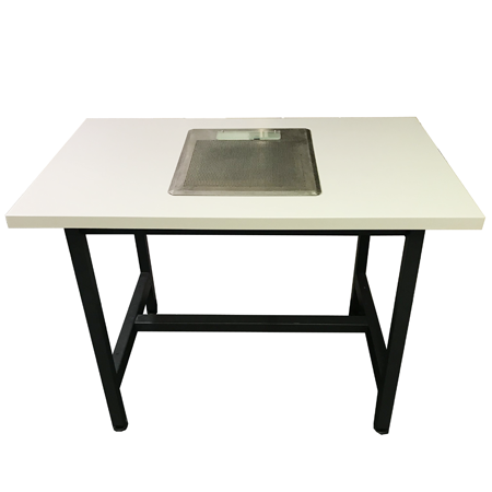 Table aspirante pour hotte encastrable