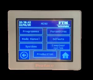 Ecran tactile TP90